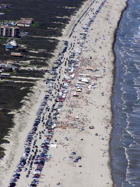 2002 SandFest from the air
